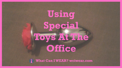 Using Special Toys At The Office